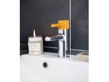 Logic tvättställblandare i orange