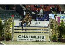 Chalmershindret på Gothenburg Horse Show