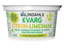 Lindahls kvarg Citron-limesmak 150 gram