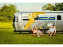 Upptäck unika resmål med Goodyears husvagn i sommar