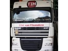 Lorry driven by Jozsef Barics
