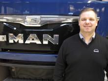 Thomas Hakon Jensen (33) er udnævnt til stillingen som Solutions konsulent hos MAN.
