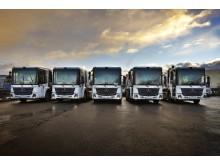 Biogaslastbilar Mercedes-Benz Econic