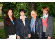 Interflora skickar tjejlag till Nordiska Mästerskapet i Blomsterbinderi