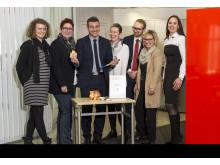 Santander_ Spende Kinderonkologie Köln