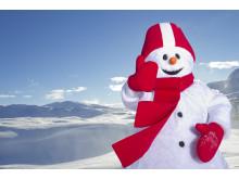 Snögubben Valle flyttar in i Sälen, Åre, Vemdalen, Trysil och Hemsedal