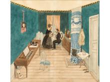 Tredje bostaden 1848-1846.