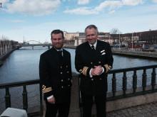 Överste styrman och kapten Carsten Hedlund