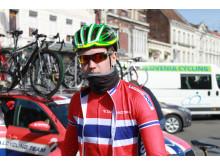 Hans Kristian Rudland under Paris-Roubaix junior 2015