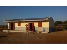 Skolebygning på Madagaskar