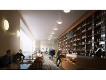 Restaurant & Cafe, New Nasjonalmuseet at Vestbanen, Oslo