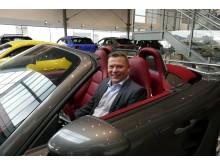 Daglig leder Porsche Center Stavanger Terje Fjogstad