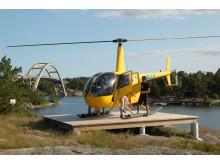 Helikopterturen för alla hugade
