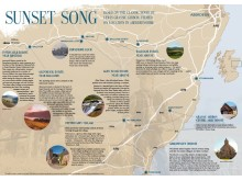 Map celebrates the sites of Sunset Song