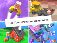 See your creations come alive with Blocksworld