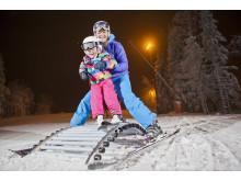 Oslo vinterpark ski med glede
