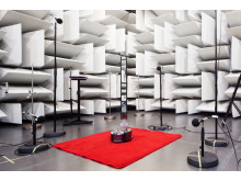 Inside Dyson research & development lab - acoustic chamber
