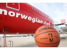 Norwegian NBA basketball