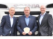 Værkfører Gert Nommensen, 52 år, Scania i Vojens