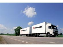Lastbil från DB Schenker