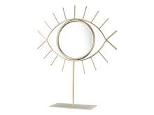 Spegel DARIUS 21x25 cm m. fod guld (79,95 SEK)