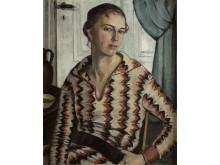 Agda Holst, Självporträtt, 1925.
