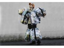 Sop-Sune vill att vi ska minska avfallet. Foto Johanna Montell