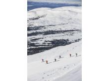 Skidåkning tillsammans - Ski together in Åre
