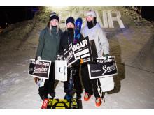 Pristagarna i alpina damklassen