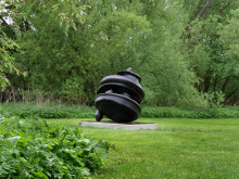 Tony Cragg, Turbo, 1999, brons