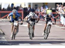 Lucas Eriksson, Serneke Allebike CK, (nr 309) vann Cykelvasan 2016