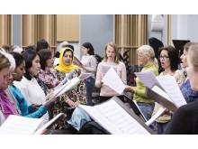 GöteborgsOperans och Svenska Röda Korsets internationella kör