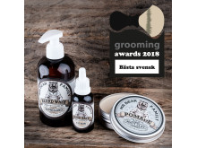 Grooming Awards 2018 - Bästa svensk - Mr Bear Family