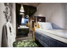 Rum storlek s på U&Me - stor hotellupplevelse på liten yta