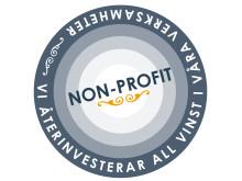 Skyddsvärnets non-profitmärke