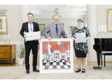 Gåvor till Prins Carl Philip och Fröken Sofia Hellqvist (liggande bild)