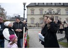 Kronprinsessparet på Görvälns slott i Järfälla