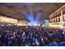 Nytårsfejring i Göteborg. Foto: Dick Gillberg