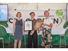 Fagredaktør Louise Møller, Anne Holst Korsbæk Andersen og Charlotte Garby
