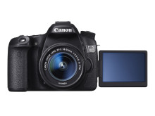 Canon EOS 70D vinklad skärm