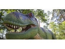Ny dinosaurieutställning på Parken Zoo Eskilstuna öppnar 17 april