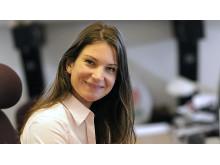 Anja Malmberg, chef för avdelningen Råd och stöd, Barncancerfonden