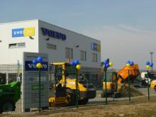 Standortwechsel - Swecon Baumaschinen GmbH bezieht neu gebaute Niederlassung in Rostock
