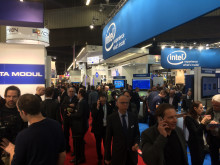 Messehalle embedded world 2016 in Nürnberg