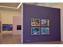 """Museum der bildenden Künste Leipzig - Blick in die Ausstellung """"VOIX"""" (1)"""