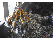 Sopor förbränns i Lejonpannan