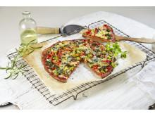 Blomkålpizza