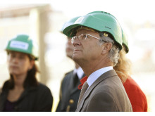 The Swedish King Carl XVI Gustaf and Queen Silvia visit SEKAB
