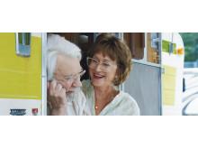 Donald Sutherland och Helen Mirren i The Leisure Seeker av Michael Zadoorian.
