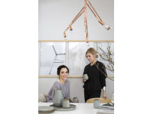 Eco Wallpaper Inred med känsla Frida Ramstedt och Pella Hedeby